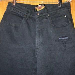 Black Harley Davidson jeans